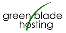 Green Blade Hosting logo